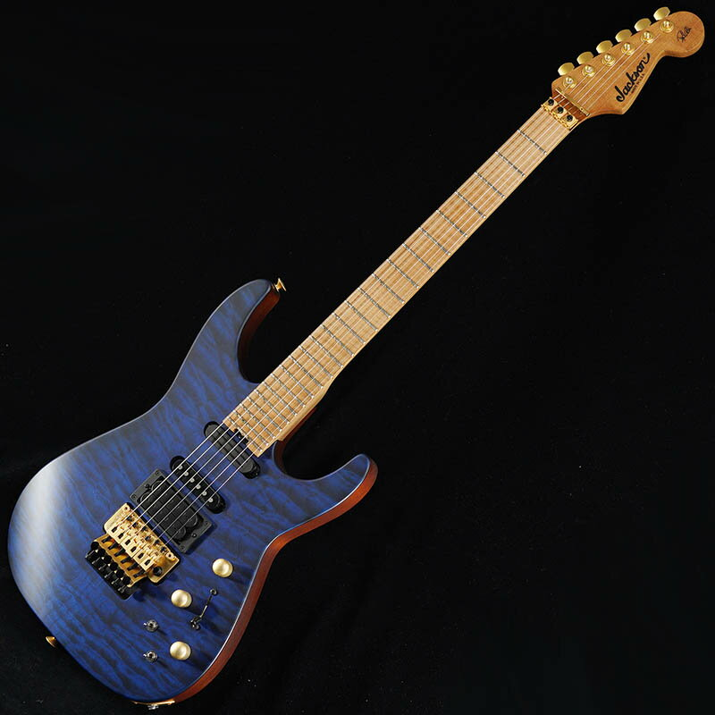 ギター, エレキギター Jackson USA Signature Phil Collen PC1 (Satin Transparent Blue)