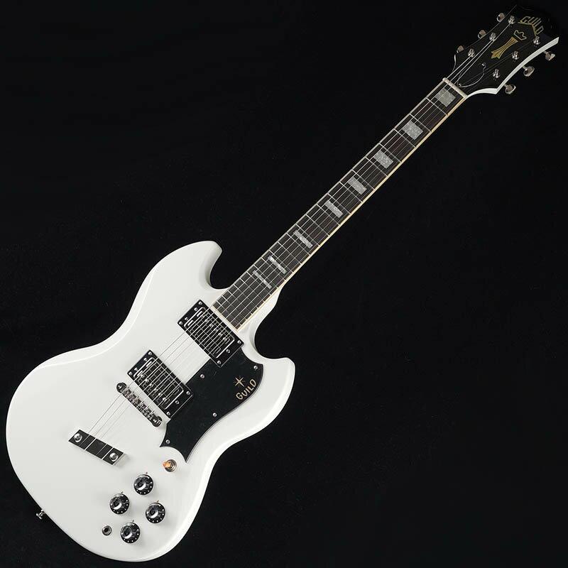 ギター, エレキギター GUILD S-100 Polara (White)