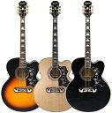 【エレクトリック・アコースティックギター】Epiphone by Gibson EJ-200CE 【当店ならエピフォン・アクセサリーパックもプレゼント】 【エピフォン・アコースティックギター弦×1セット・プレゼント】