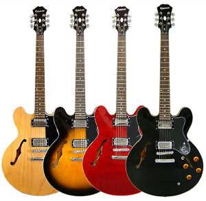 【エレキギター】Epiphone by Gibson Dot 【当店ならエピフォン・アクセサリーパックもプレゼン...