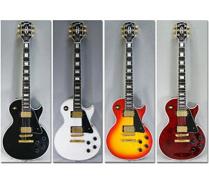 【エレキギター】Gibson CUSTOM SHOP Custom Collection Les Paul Custom [Ebony Fingerboard]