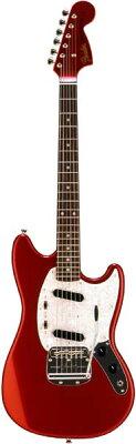 【エレキギター】Fender Japan MG69/MH (CAR) 【アーニーボール・ストラップ&ポリッシュ&クロ...