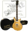 【エレキギター】Epiphone By Gibson LIMITED MODEL TAK MATSUMOTO DC STANDARD GOLDTOP 【2ND...
