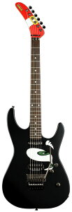 【エレキギター】SONIC THE HEDGEHOG GUITAR STH-130 (Mat Black w/Graphic) 【受注生産品】