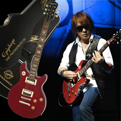 Epiphone by Gibson LIMITED MODEL TAK MATSUMOTO DC STANDARD PLUSTOP CHERRY
