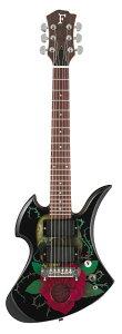 【ミニ・ギター】Fernandes SKULL ROSE-Jr. 2012 [200本限定生産モデル] 【フェルナンデスhide...