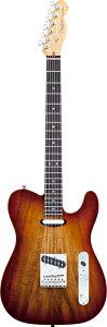 【エレキギター】 NAMM 2012 NEW MODEL!!Fender USA Select Carved Koa Top Telecaster (Sienna...