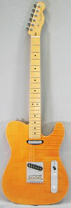 �ڥ��쥭�������� NAMM 2012 NEW MODEL!!Fender USA Select Carved Maple Top Telecaster (Amber)