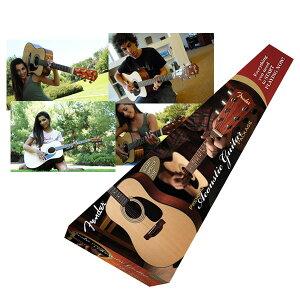 【アコースティックギター】Fender Acoustics DG-8S Acoustic Pack 【入門セット】
