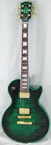 【エレキギター】Gibson CUSTOM SHOP Limited Les Paul Custom Figured Green Widow 【PGC-GIBS...