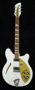 【エレキギター】Rickenbacker Limited Model 360 Snowglo w/Gold Pickguard