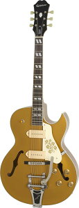 Epiphone by Gibson Limited Edition ES-295 Premium [Lacquer Finish] (Metallic Gold) 【エピフォン純正ストラップ・プレゼント】