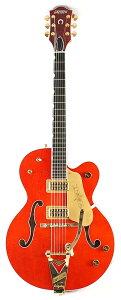 【エレキギター】GRETSCH G6120 Chet Atkins Hollow Body 【特価】