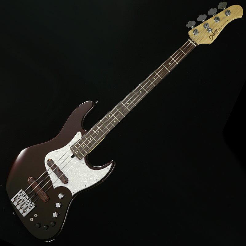 ベース, エレキベース Xotic XJ-1T 4-string Alder (Black Cherry MetallicRosewood)