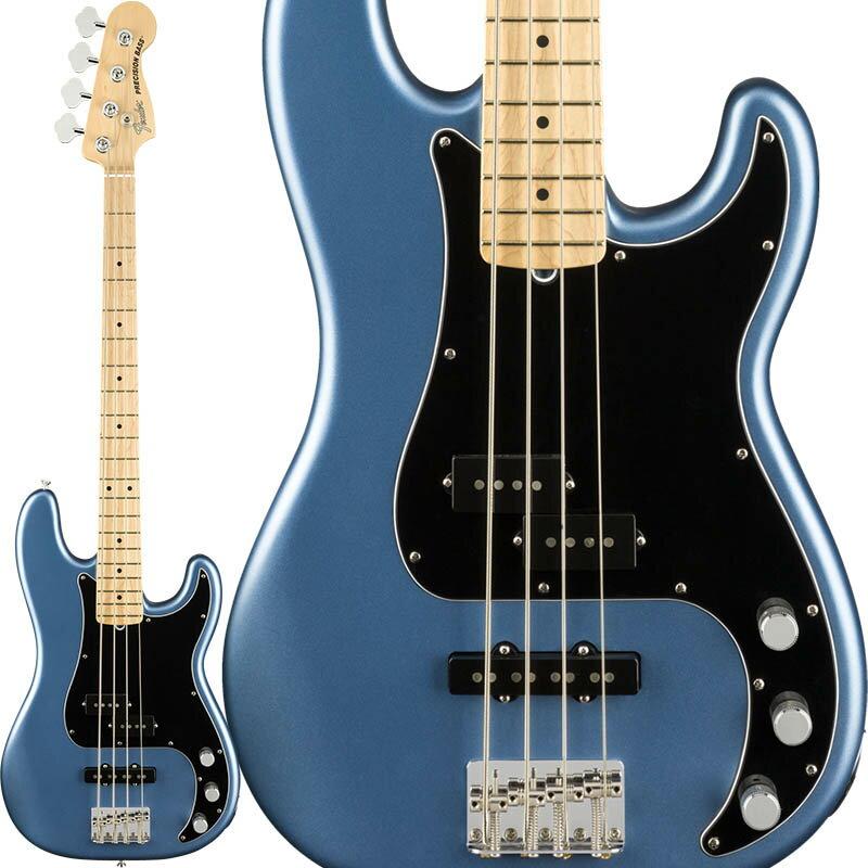 ベース, エレキベース Fender American Performer Precision Bass (Satin Lake Placid BlueMaple) Made In USA ikbp5 1