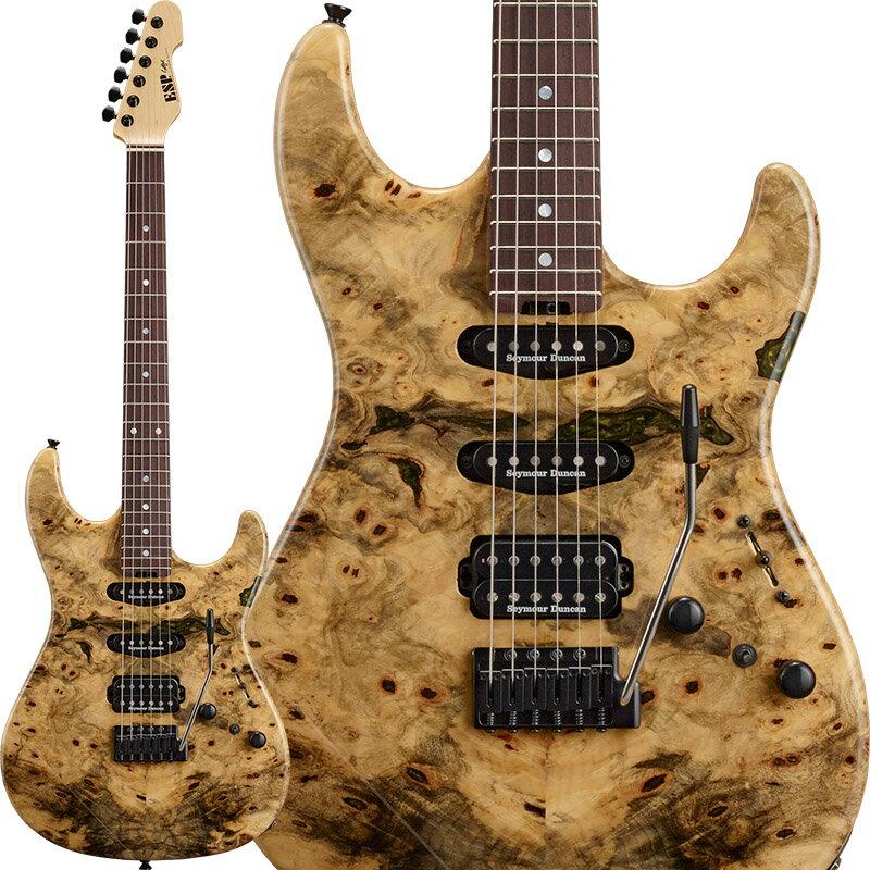ギター, エレキギター ESP SNAPPER-CTM Buckeye Burl Honduras Rosewood Fingerboard