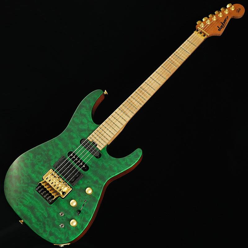 ギター, エレキギター Jackson USA Signature Phil Collen PC1 (Satin Transparent Green)