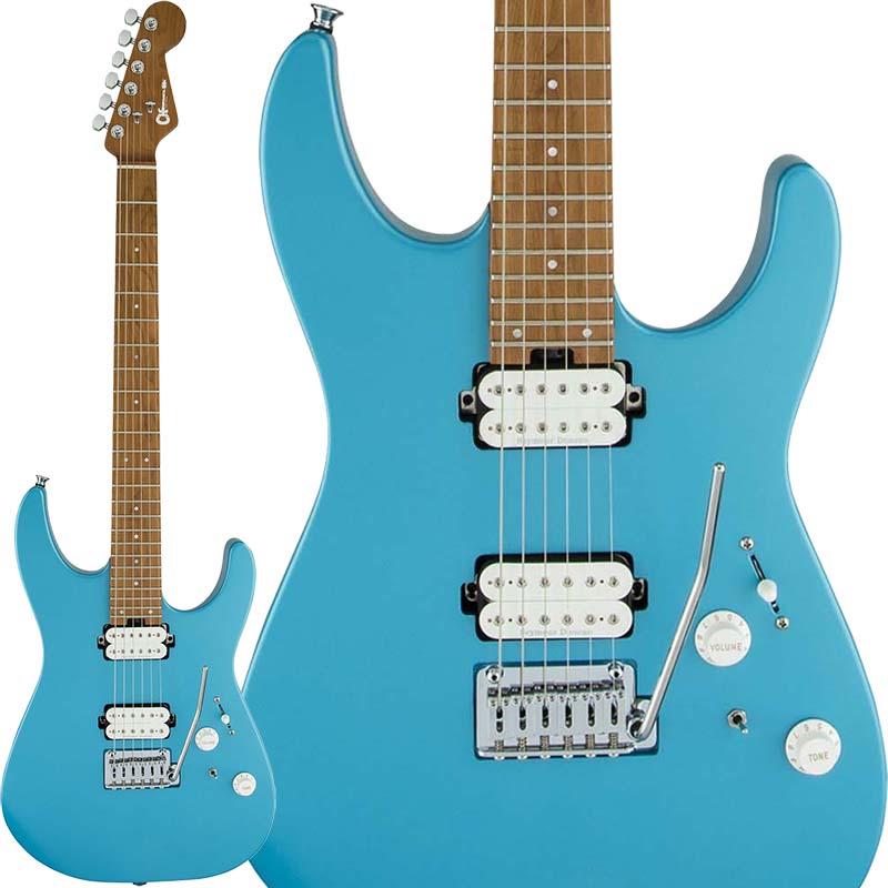 ギター, エレキギター Charvel Pro-Mod Series Dinky DK24 HH 2PT CM (Matte Blue Frost)