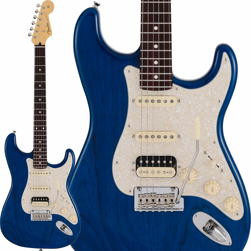 ギター, エレキギター Fender Made in Japan 2019 Limited Collection Stratocaster HSS (Sapphire Blue TransRosewood Fingerboard) ikbp5