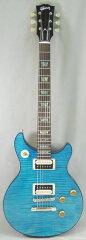 Gibson CUSTOM SHOP TAK MATSUMOTO DC STANDARD FLAMETOP AQUA BLUE [TAK AB3129] 【即納可能】 【HxIv02_03】