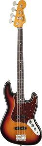 【エレキベース】Fender MEX '60s Jazz Bass Lacquer (3-Color Sunburst) 【6月上旬入荷予定】