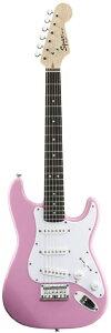 【タイムセール限定衝撃プライス】Squier by Fender Mini ST (Pink) 【楽天イーグルス優勝記念...
