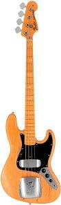 【エレキベース】Fender USA FSR American Vintage '75 Jazz Bass (Aged Natural) 【11月中旬入...