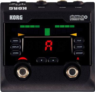 【チューナー】KORG pitchblack+ [CHROMATIC TUNER] 【期間限定特別プライス】