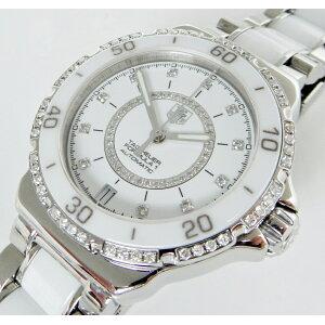 Ikedaya pawn shop TAG Heuer formula 1 automatic winding ladies WAU2213 SS × ceramic × diamond used A [used]