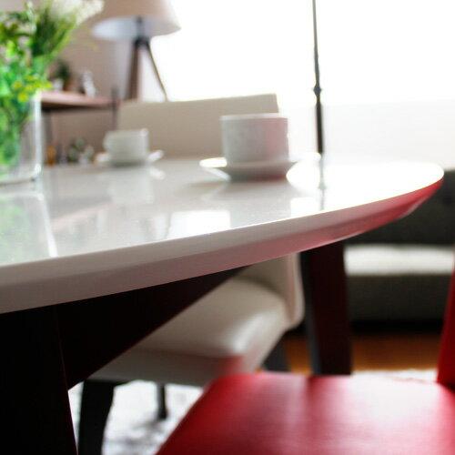 ダイニングセット 3点 パラダイス | ホワイト 丸テーブル ダイニングテーブルセット 3点セット 回転椅子 円形 丸 丸型 白 鏡面 カフェテーブルセット カフェ風 木製 2人 2人用 100 おしゃれ