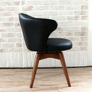 ダイニング回転チェア60Pabloパブロ|回転回転式北欧椅子チェアチェアーコンパクトインテリア個性的天然木ブラックアイボリーリビング寝室人気シンプルかわいいプレゼントおしゃれ送料無料