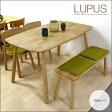 北欧風 ダイニングセット ベンチ 4点 LUPUS ルーパス | 北欧 ダイニングテーブルセット 4人 ダイニングテーブル 4点セット 木製 天然木 無垢 ナチュラル ダイニング ベンチ チェア テーブル かわいい おしゃれ 送料無料