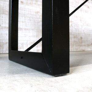 ダイニングベンチ 105 Diannu ディアンヌ 無垢 無垢材 アイアン 脚 ブラック ダイニング ダイニング用 玄関 ベンチ 105cm アンティーク 一枚板風 北欧 和風 モダン 和モダン 天然木 木製 おしゃれ