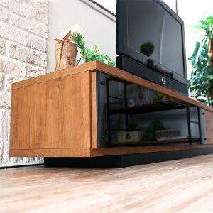 テレビボード140北欧アンティーク木製便利収納寝室リビング木目インテリアモダンシンプ人気おしゃれ送料無料ミラー
