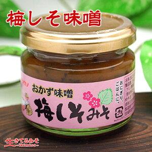 [梅しそ味噌 110g]梅としその風味がさわやか!ご飯がすすむ味わいのおかず味噌。箸休めにもも...