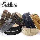 サドラーズ Saddler's/ カーフスエードベルト『EG02』(7...