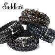 サドラーズ Saddler's / 手編みレザーメッシュベルト『G256』(4 colors)ベルト レザー 革 イタリア製 カジュアル 【ラッピング対応】あす楽対応_