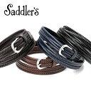 サドラーズ Saddler's/ エラスティックレザーメッシュベルト「G300」(4 colors)ベルト レザー 革 イタリア製 【ラッピング対応】 | メンズ レザーベルト 革ベルト 皮ベルト メッシュベルト メッシュベルト ブランド ギフト 父の日