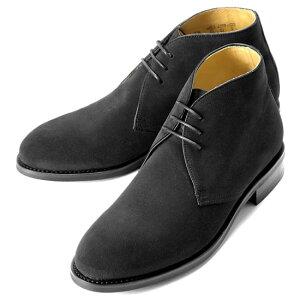バーウィック Berwick1707 / スエードチャッカブーツ「320」(NEGRO/ ブラック )/ 靴 シューズ チャッカ ブーツ 黒 チャッカブーツ スエード メンズ チャッカーブーツ デザートブーツ ビジネス ショートブーツ