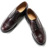 バーウィック Berwick1707 / バインダーカーフアメリカンブローグシューズ『4550』(BURDEOS/バーガンディ) ダイナイトソール 靴 ウィングチップ メンズ ブランド オンオフ兼用 革靴 レザーシューズ ビジネス メンズシューズ 紳士靴 シューズ ブランド