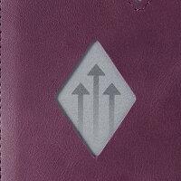 EXENTRIWALLET(エキセントリウォレット)パープル本革三つ折り財布コンパクトEX-D341