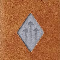 EXENTRIWALLET(エキセントリウォレット)エメラルドグリーン本革三つ折り財布コンパクトEX-D313