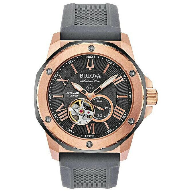 腕時計, メンズ腕時計 BULOVAAUTOMATIC45(RG IP)200M398A228