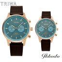 【あす楽】トリワ TRIWA ICE BLUE NEVIL/NIKKI 日本別注 ペア クォーツ クロノグラフ 正規品 2年保証 腕時計 NEST129-CL110414/NKST109-SS110414・・・