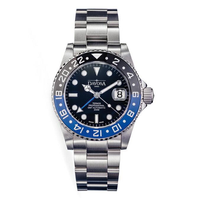 腕時計, メンズ腕時計 DAVOSA Ternos Professional GMT GMT 200M 42mm 2 161.571.4516157145