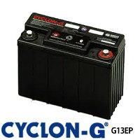 ディープサイクルバッテリー サイクロンG G13EP