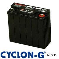 ディープサイクルバッテリー サイクロンG G16EP