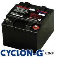 ディープサイクルバッテリー サイクロンG G26EP