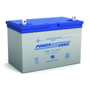 キャンピングカーや航空機等幅広く使用!POWER SONICバッテリー PS-121000