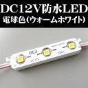 DC12V用LED 防水電球色タイプ
